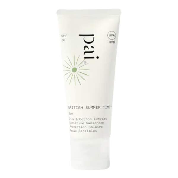 British Summer Time Protection Solaire SPF 30, Paï, 44 €