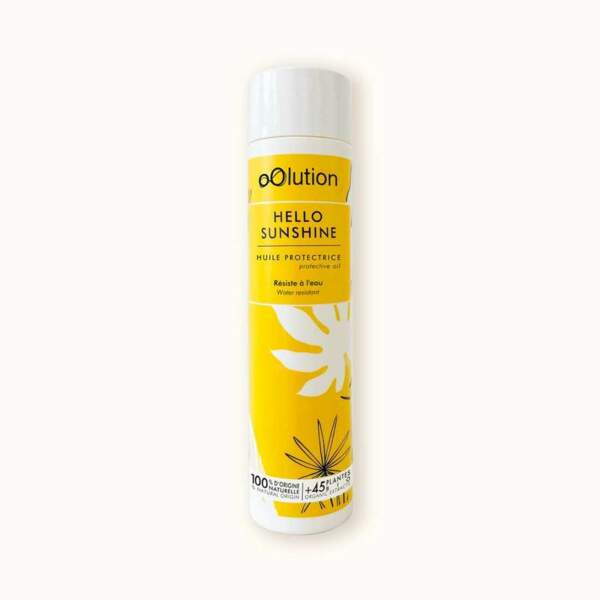 Hello Sunshine, Huile Protectrice Corps, Oolution, 45 €