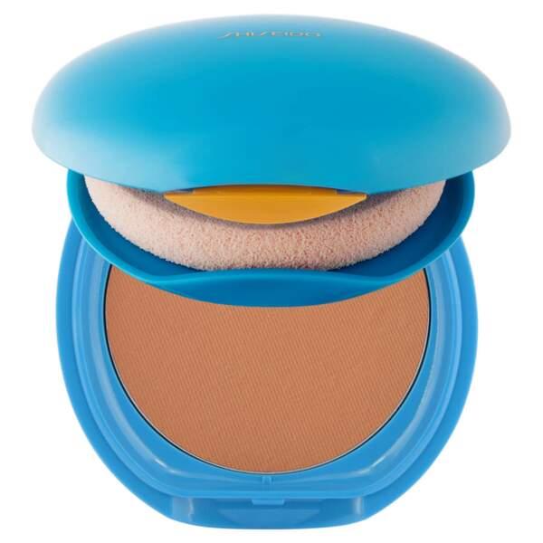 Compact Solaire SPF 30, Shiseido, 38 €