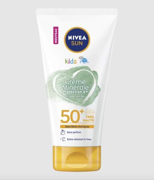 rème Minérale Kids SPF 50 +, Nivea Sun, 13,90 €