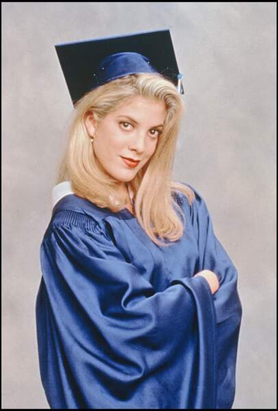 Tori Spelling en 1991.