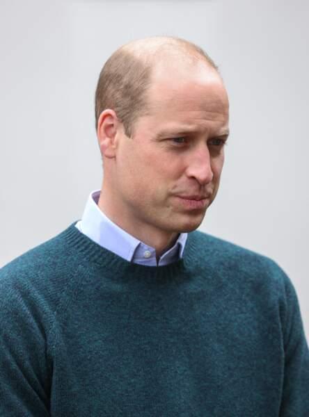Le prince William en Ecosse, le 23 mai 2021.