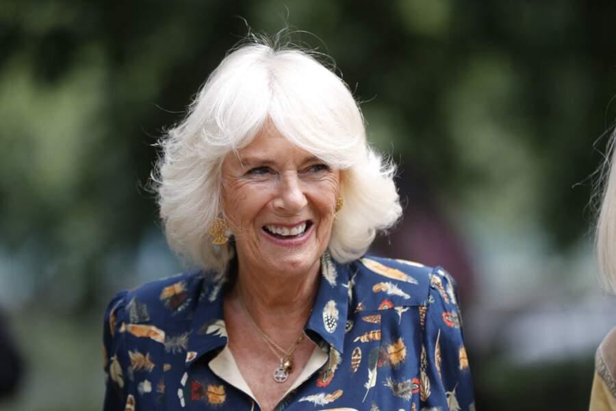Camilla Parker Bowles, à Londres, le 22 juin 2021