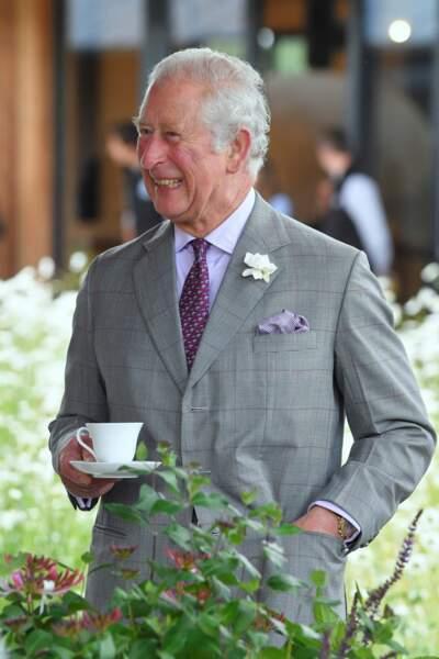 Le prince Charles, le 22 juin 2021.