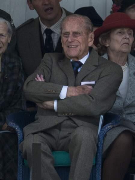 Le prince Philip en Ecosse le 2 septembre 2017.
