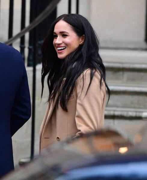 Meghan Markle à Londres, le 7 janvier 2020