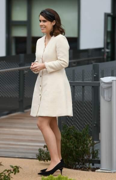La princesse Eugenie, le 21 mars 2019.