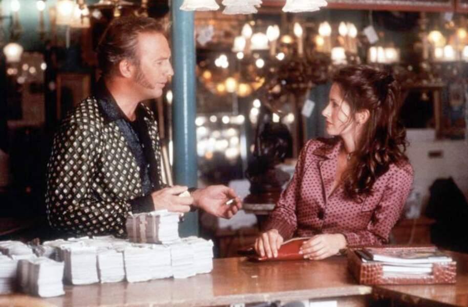 Courteney Cox et Kevin Costner aurait eu une relation amoureuse dans les années 90