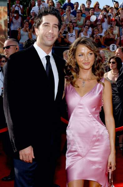 David Schwimmer et Carla Alapont, une courte histoire d'amour