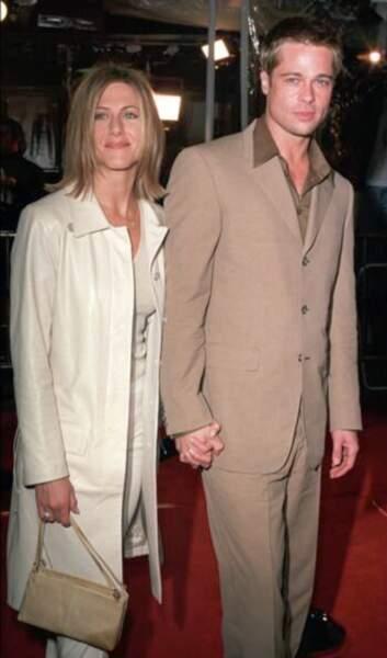Jennifer Aniston et Brad Pitt, une romance glamour