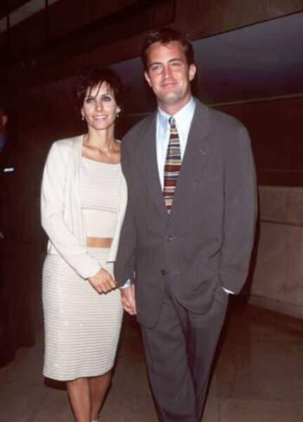 Courteney Cox et Matthew Perry auraient été en couple pendant quelques semaines