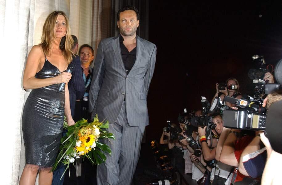 Jennifer Aniston et Vince Vaughn, une rupture à cause de la pression médiatique
