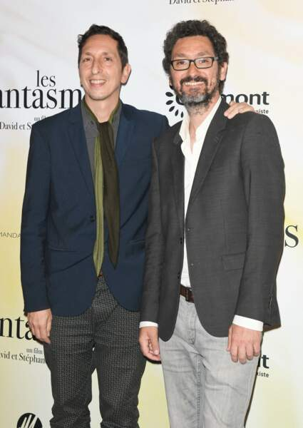"Stéphane Foenkinos et David Foenkinos à l'avant-première du film ""Les fantasmes"""