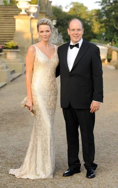4 septembre 2011 : Charlene et Albert de Monaco assistent au Jubilee Ball à Leeds