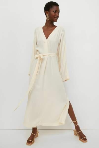 Robe longue caftan, 59,99€, H&M