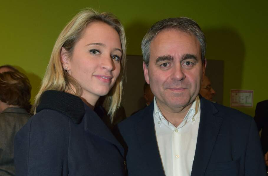 Xavier Bertrand et Vanessa Williot, à Amiens le 25 novembre 2016.