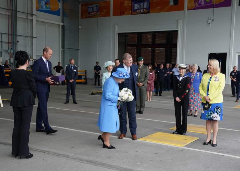 La reine a posé ses valises en Ecosse pendant quatre jours, pour une série de visites, le 28 juin