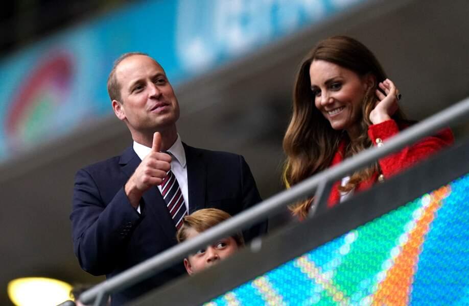 Comme son père, le duc de Cambridge, le prince George est un grand amateur de football