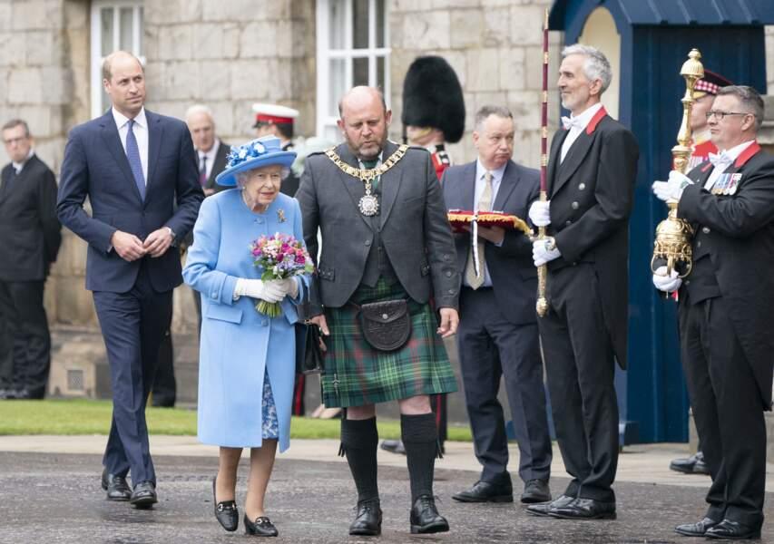 Rendez-vous est pris en Ecosse, où la reine d'Angleterre a notamment reçu les clés de la ville d'Edimbourg