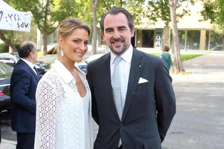 Nikolaos et Tatiana de Grèce le 20 septembre 2019 à Athènes