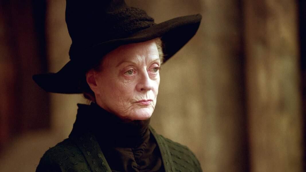 Maggie Smith - Minerva McGonagall dans Harry Potter