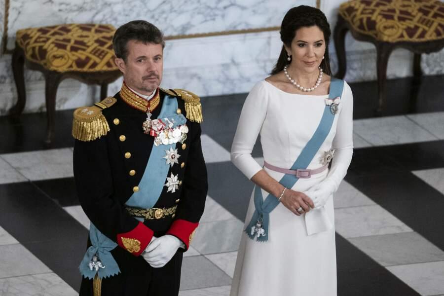 Le prince Frederik de Danemark et la princesse Mary le 2 janvier 2019 à Copenhague