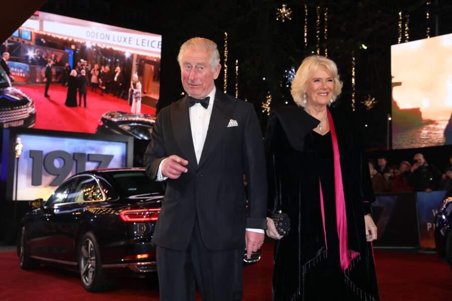 Le prince Charles, prince de Galles et Camilla Parker Bowles le 4 décembre 2014 à Londres