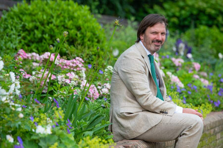 Pip Morrison, le designer du jardin de Kensington, le 1er juillet 2021.