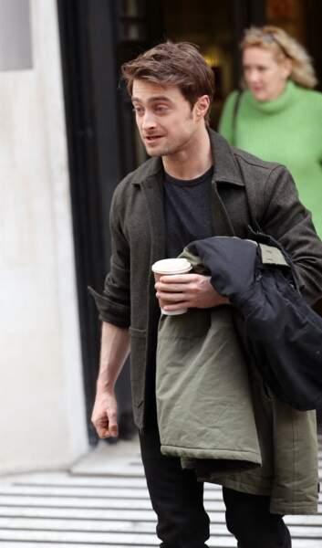 Daniel Radcliffe à Londres, le 15 mars 2020.