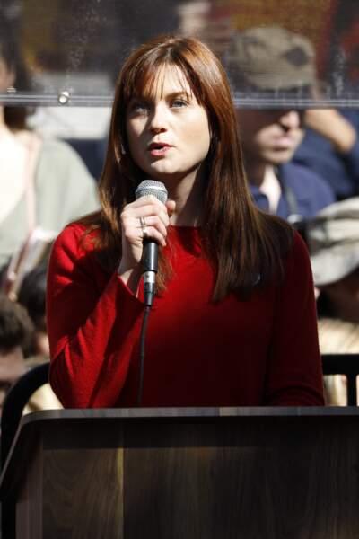 Bonnie Wright à Los Angeles le 7 février 2020.