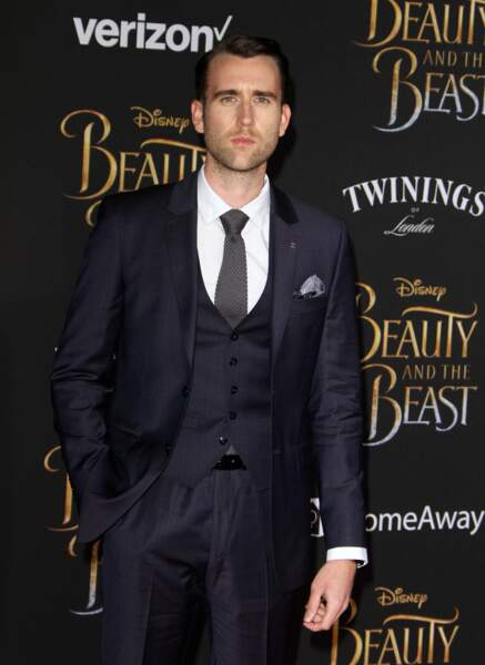 Matthew Lewis au théâtre El Capitan à Hollywood, le 2 mars 2017