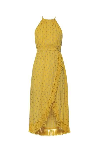 Robe longue Adela dubai banana, 162€, Sundress