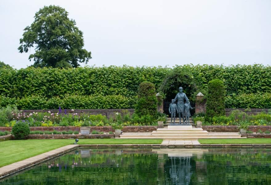 La magnifique statue de Diana dévoilée ce 1er juillet 2021.