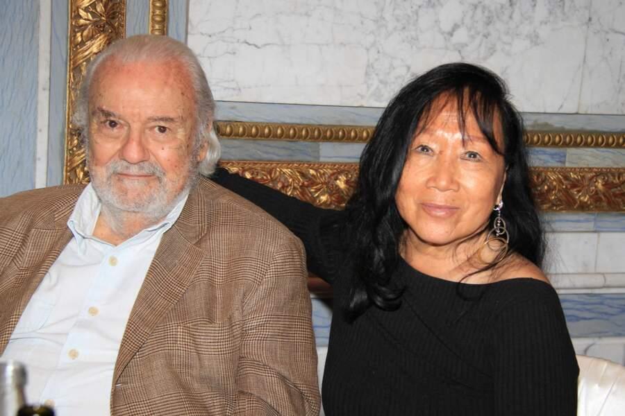 Deux invités, à la soirée organisée aux salons Hoche, à Paris, le 30 juin 2021.