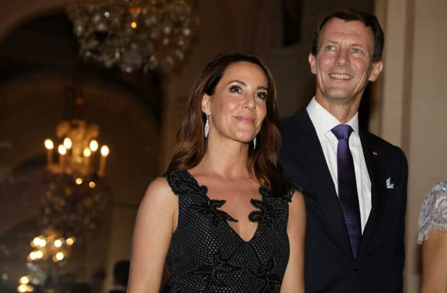Joachim et Marie de Danemark à Paris le 8 octobre 2019