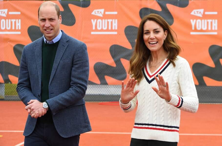 Le prince William et Kate Middleton le 27 mai 2021 en Écosse