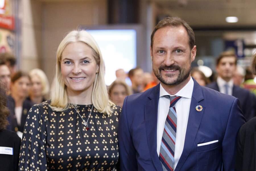 Haakon et Mette-Marit de Norvège le 15 octobre 2019 à Cologne