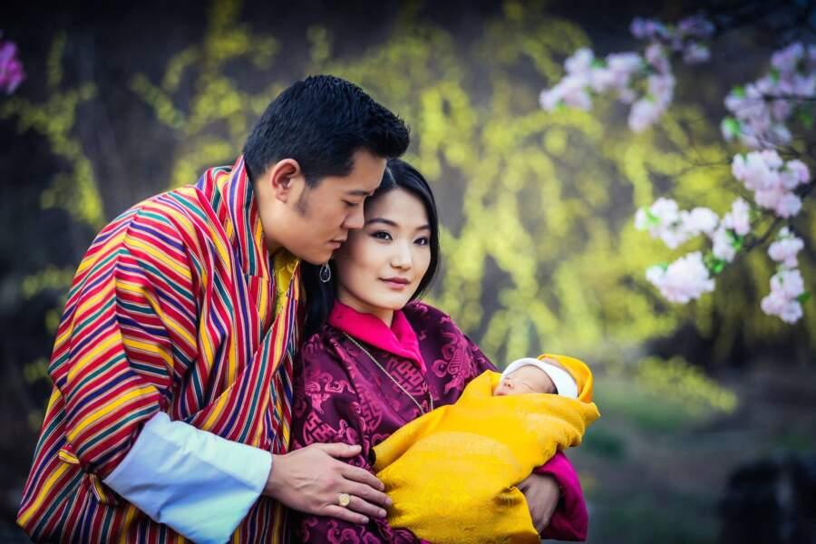Jigme Khesar Namgyel Wangchuck et Jetsun Pema le 16 mars 2016