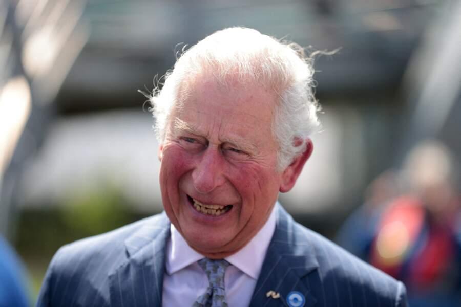 Le prince Charles à Coventry, le 25 mai 2021.