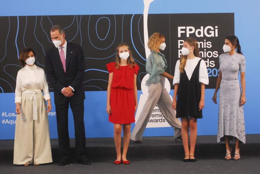 La précédente édition du prix remis par Leonor d'Espagne avait été reportée à cause de la crise sanitaire