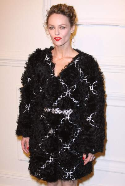 Vanessa Paradis en 2015 : dans une robe Chanel