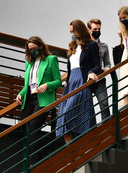 Kate Middleton est la patronne du tournoi de Wimbledon