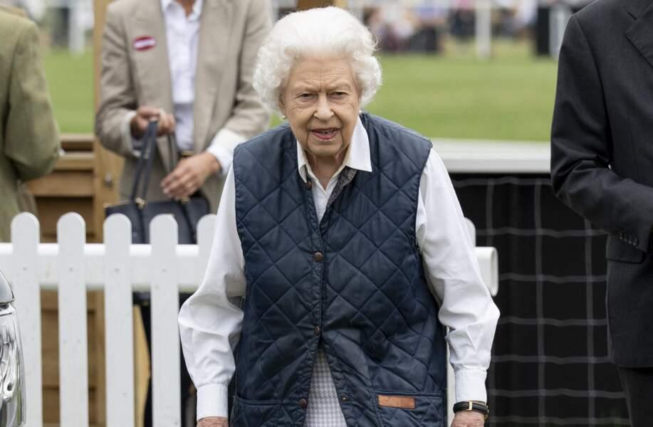 Fan des courses de chevaux, la Reine Elizabeth II a pu s'adonner à sa passion pour les courses hippiques.