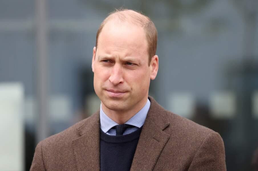 Le prince William pendant sa tournée en Écosse, en juin 2021