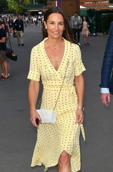Pippa Middleton à Londres, le 12 juillet 2019.