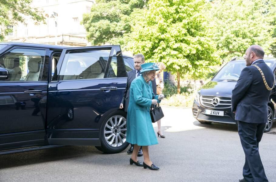 Plus tôt dans la journée, la reine Elizabeth II était en Ecosse.