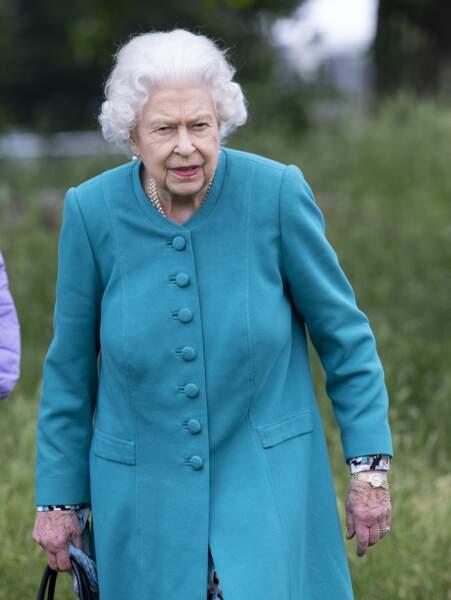Elizabeth II a quitté l'Ecosse pour ne pas manquer la première journée du Windsor Horse Show ce 1er juillet 2021.