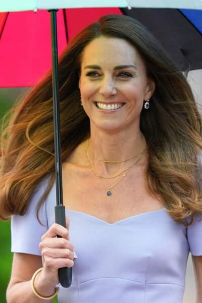 Kate Middleton à Londres, le 18 juin 2021