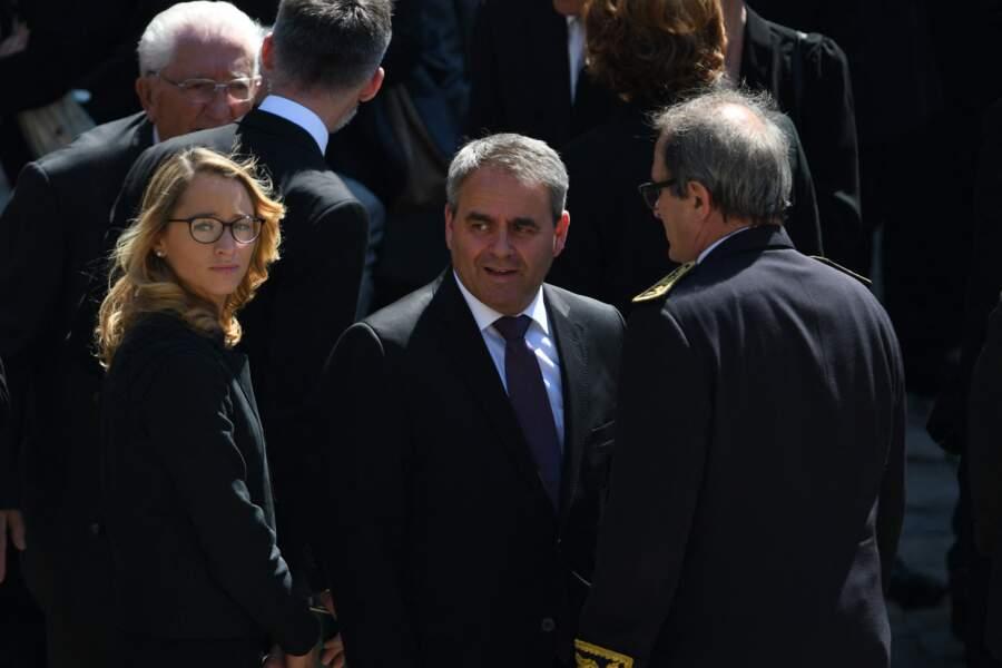 Xavier Bertrand et Vanessa Williot à Paris, en juillet 2016