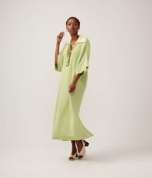 Robe longue, 285€, Valentine Witmeur